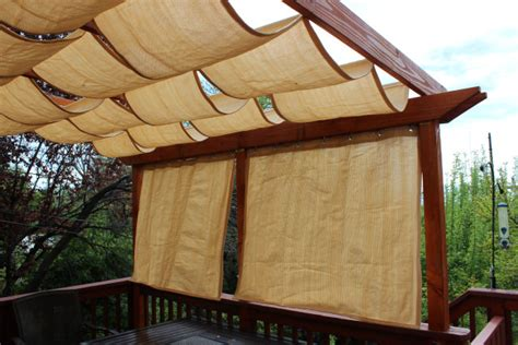outdoor mesh fabric for pergola 9 clever diy ways for a shady backyard oasis the garden glove