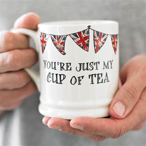 Special Produk Mug Blirik 9cm just my cup of tea mug by sweet william designs