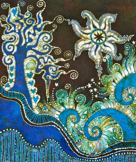 design for batik batik design blue green general crafty goodness pinterest
