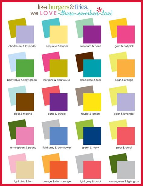 color pairings try these color combos sassywalls sassy colors