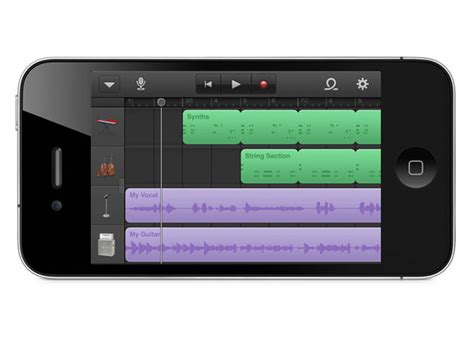 Garage Band For Iphone by Garageband Comes To Iphone Ipod Touch Garageband For