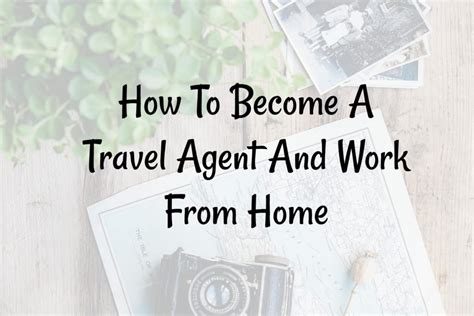 how to become a travel and work from home fitnancials