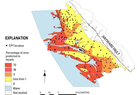 california map earthquake risk subsurface exploration with the cone testing