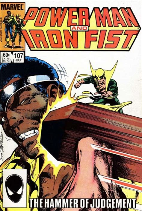 libro punisher back to the 1984 byrnes power man and iron fist covers make mine marvel auction iron fist