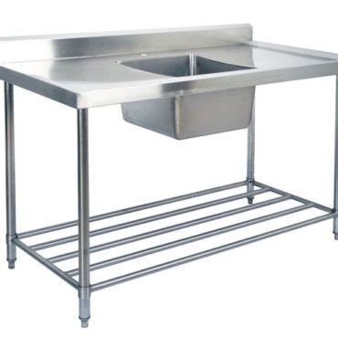 stainless steel sink bench kss stainless steel sink bench 1200mm