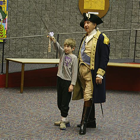 biography of george washington for elementary students hillendale elementary students receive visit from george