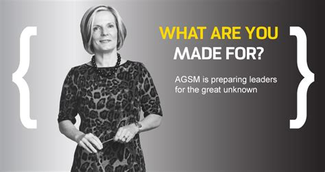 Agsm Mba Executive Review by Australian Graduate School Of Management Unsw Australia