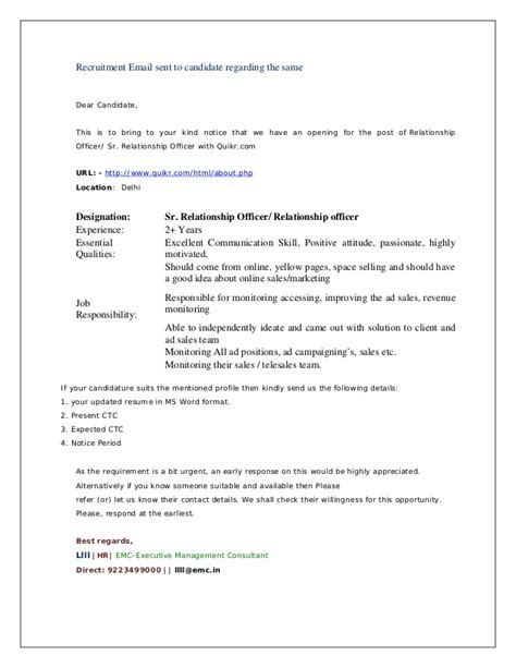 Mba Candidate Signature by Summer Internship Project Hr Mba