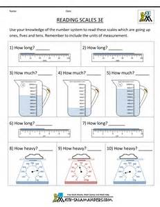 3rd grade measurement worksheets