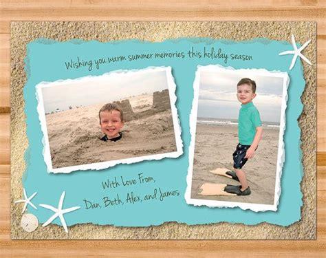 printable beach postcards printable beach theme christmas holiday cards customized