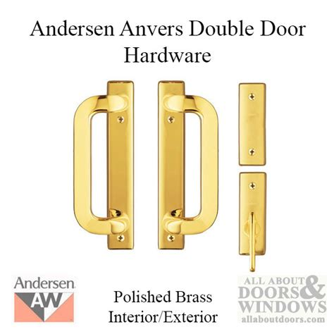 andersen door lock how to install andersen gliding door handleset and lock