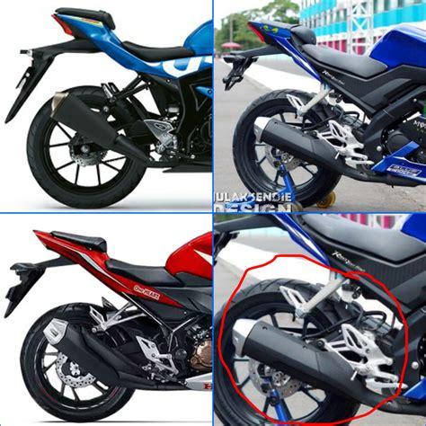 Cover Belakang Gsx R150 Komparasi New Yamaha R15 Vs Honda Cbr150r Vs Suzuki Gsx