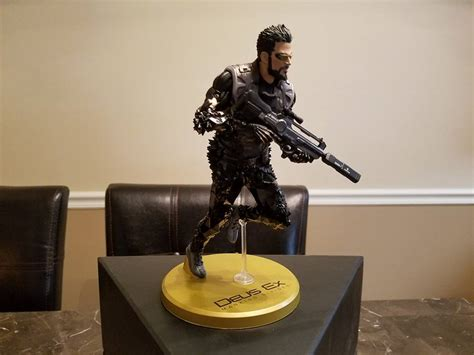 Deus Ex Mankind Divided Collector Edition Statue diving back into deus ex impressions of mankind divided