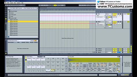 tutorial drum rack ableton ableton live tutorial how to record your drum sles in