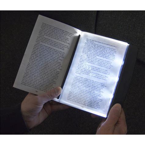 3 bright led slim page reading light book l