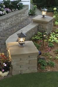 gartengestaltung mauersteine landscaping bricks