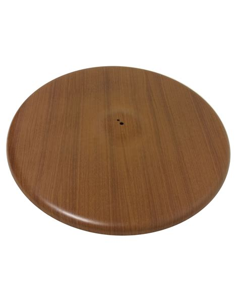 30 inch base sted steel quick ship wood grain 30 inch round