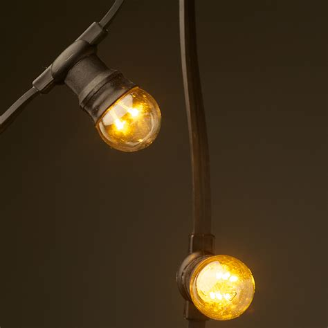 low voltage g45 led festoon kit 50cm intervals