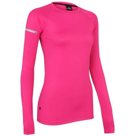 Nike The Top Running Pink wiggle wiggle essentials s sleeve run top