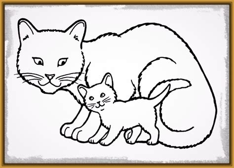 imagenes faciles para dibujar de gatos imagenes de gatos para dibujar sencillos