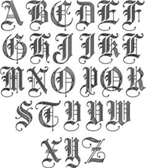draw old english letters hyspd style letters image 10 drawing
