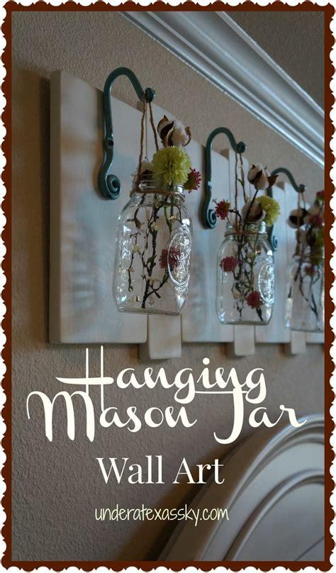 hanging mason jars   texas sky