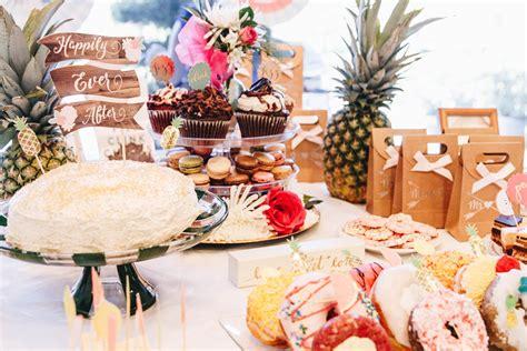 food ideas for tropical wedding shower 2 tropical bridal shower ideas blushing in
