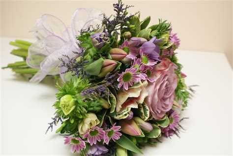 Bridal Hand Tied Bouquets   Belper Florist   Derby Flowers