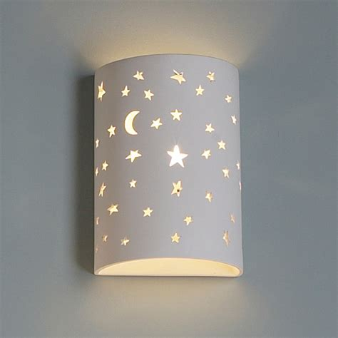 Childrens Bedroom Wall Lights 7 Quot Starry Children S Wall Sconces Fabby Fabby
