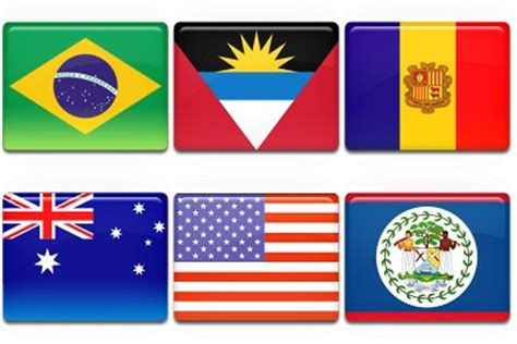 flags of the world zip all country flag iconset 261 icons custom icon design