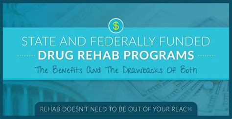 State Funded Detox Programs state and federally funded rehab programs
