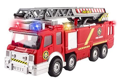 toy fire trucks with lights and sirens fire truck toy rescue with shooting water lights and