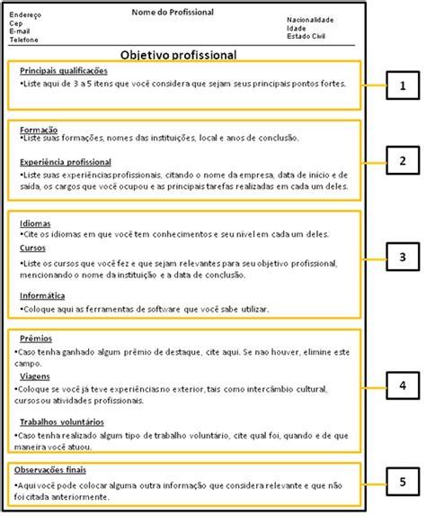Modelo Curriculum Niñera Como Fazer Um Curriculum Empregos Em Goiania