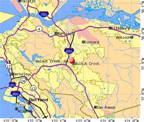 walnut california map walnut creek california places to live