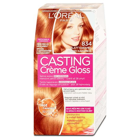 creme gloss caramel delice l oreal spot 2014 cr 232 me gloss 834 caramel hair color peppery spot
