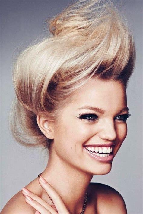 nice mohawk hair styles nice simple evening hairstyle medium length hair