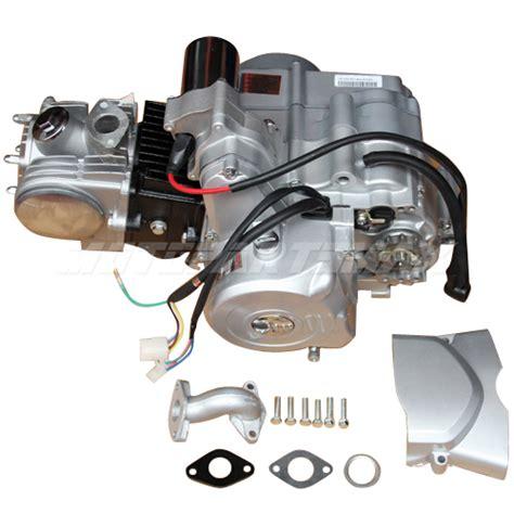 125cc 4 Stroke Engine Motor Auto W Reverse Electric