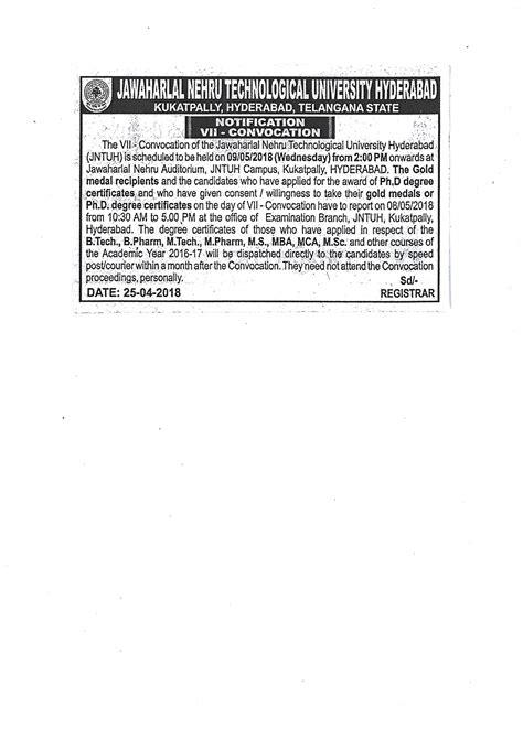 Jntuh Mba 2016 by Jawaharlal Nehru Technological Hyderabad