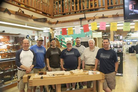 woodworking association the modern woodworker s association visits highland
