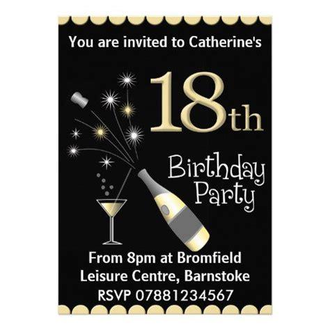 Male 18th Birthday Invitations 18th Birthday Invitation Templates Free