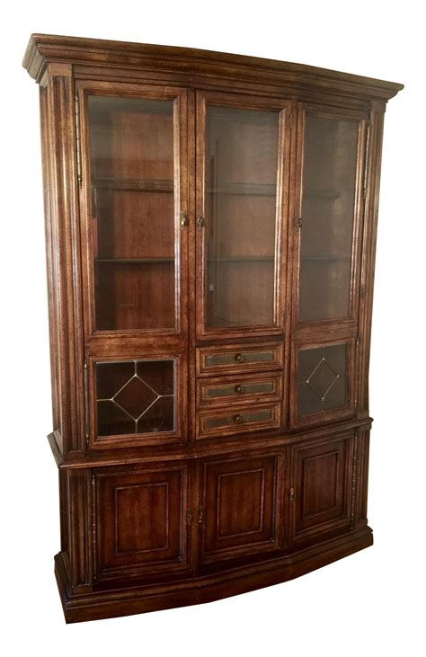 american of martinsville china cabinet american of martinsville china display cabinet chairish