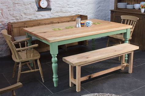 farmhouse kitchen furniture traditional farmhouse kitchen table by the old school
