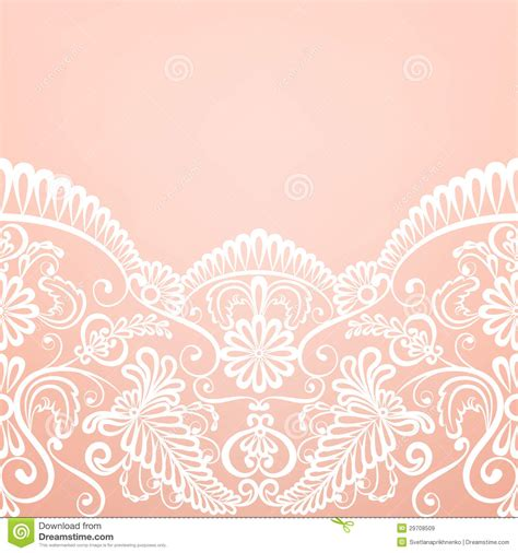 invitation card background templates card with lace stock vector illustration of leaves
