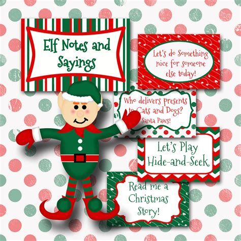 printable elf on the shelf sayings elf on the shelf quotes quotesgram