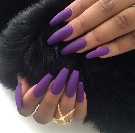 matte purple nail best 25 matte purple nails ideas on colored