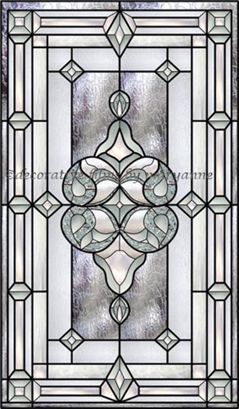 house window privacy film bevel stained glass window 1 decorative window film house projects pinterest
