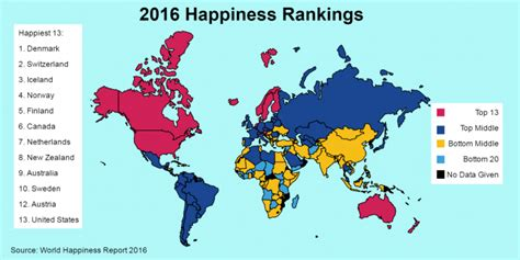 happiest states 2016 happiness may be more meaningful measure of inequality