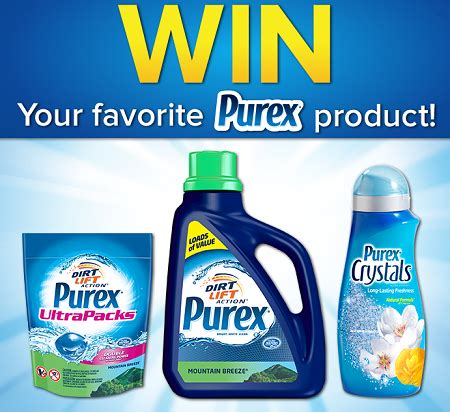 Free Product Giveaways - win free full size purex products giveaway thrifty momma ramblings