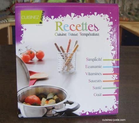 classeur recette cuisine classeur de recettes cuisine basse temp 233 rature