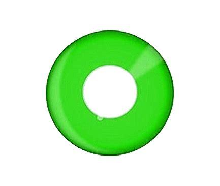 phantasee ® uv glow green color contact lens | xpress lenses